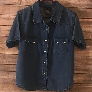 Denim &Co Heavy Shirt